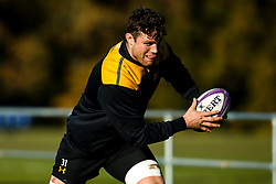 Will Rowlands of Wasps during training ahead of the European Challenge Cup fixture against SU Agen - Mandatory by-line: Robbie Stephenson/JMP - 18/11/2019 - RUGBY - Broadstreet Rugby Football Club - Coventry , Warwickshire - Wasps Training Session