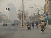 main traffic road Beijing China
