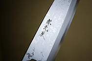 A honyaki knife by Yoshikazu Ikeda Forged Knife Master Craftsman, Sakai, Osaka Prefecture, Japan