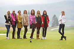 The teams in the Ryder Cup..The Miss World participants play golf at the world famous Gleneagles Hotel, host of The Ryder Cup 2014..MISS WORLD 2011 VISITS SCOTLAND..Pic © Michael Schofield.