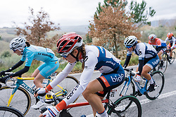 Clara Koppenburg back in the thick of the action after an earlier crash - 2016 Strade Bianche - Elite Women, a 121km road race from Siena to Piazza del Campo on March 5, 2016 in Tuscany, Italy.