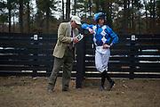 Colonial Cup - Camden, South Carolina. Trainer Jonathan Sheppard and Jockey Darren Nagle