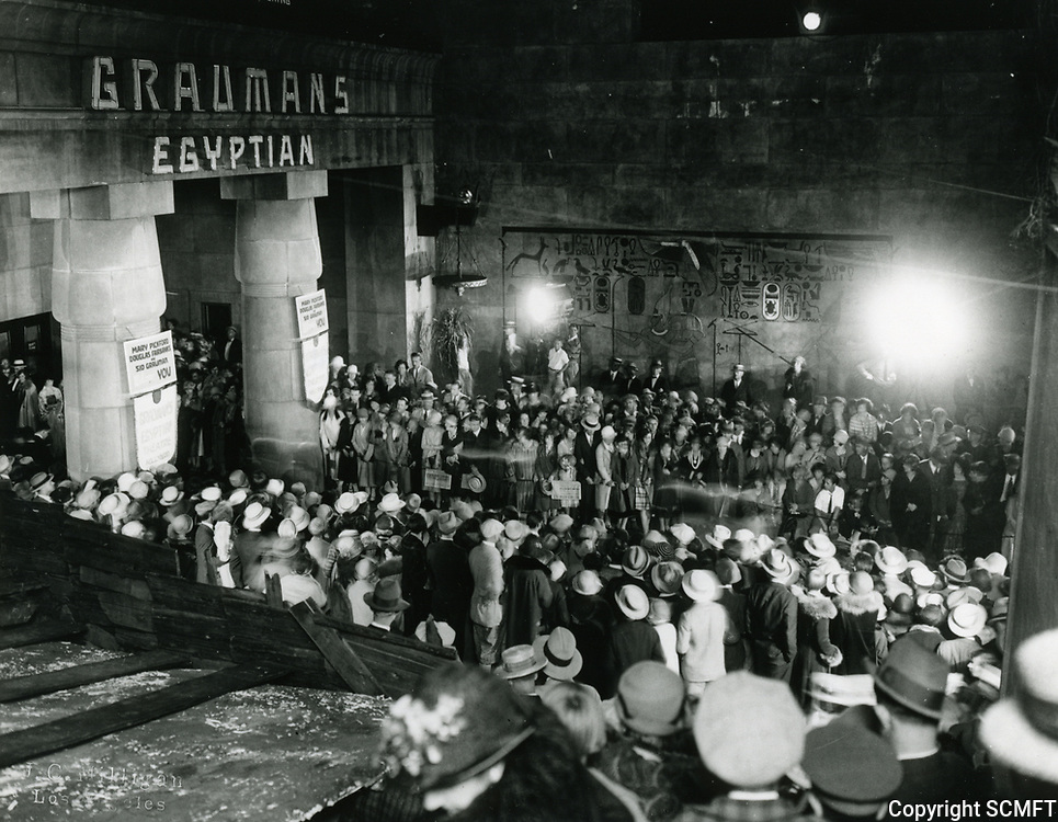 """1926 Premiere of """"Sparrows"""" at Grauman's Egyptian Theater"""