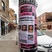 Chicago Street Scene, Logan Square neighborhood, August 2017.