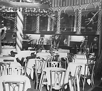 1950 Interior of Mocambo on the Sunset Strip