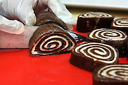 Mara Lavitt /For Hearst Connecticut Media<br /> February 6, 2016<br /> Catch A Healthy Habit Cafe, Fairfield. Cinnamon rolls of dates, pecans, cinnamon, vanilla-cashew cream.