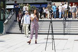 May 25, 2018 - Paris, France - Malika Menard (Credit Image: © Panoramic via ZUMA Press)