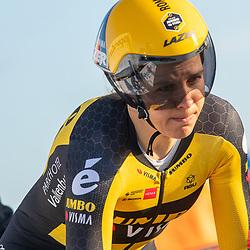 11-03-2021: Wielrennen: Healthy Ageing Tour: Lauwersoog<br />Romy Kasper