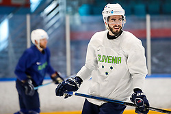 Jurij Repe during team Slovenia practice at IIHF World Championship DIV. I Group A Kazakhstan 2019, on May 4, 2019 in Barys Arena, Nur-Sultan, Kazakhstan. Photo by Matic Klansek Velej / Sportida