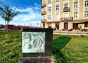 Pomnik prezydenta Juliusza Lea na Podgórzu w Krakowie