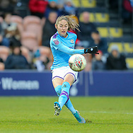 Manchester City striker Women Janine Beckie (11) during the FA Women's Super League match between Tottenham Hotspur Women and Manchester City Women at the Hive, Barnet, United Kingdom on 5 January 2020.