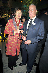 LADY RACHEL BILLINGTON and BRUCE HUNTER at the Orion Publishing Group Author Party held at the V&A, London on 18th February 2009.