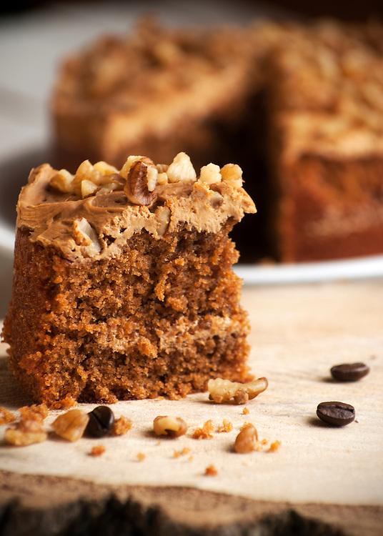 Coffee & Walnut cake.