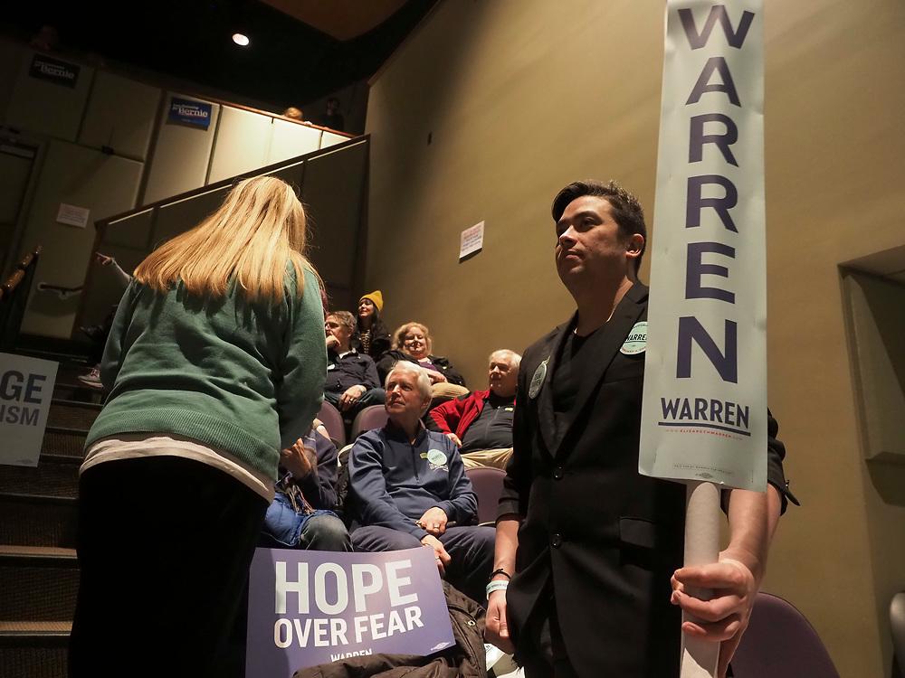 Fairfield Iowa residents caucus on February 3