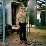 Terry, engineer and paint specialist. £16.20 per week. HMP Coldingley, Surrey was built in 1969 and is a Category C training prison. Coldingley is focused on the resettlement of prisoners and all prisoners must work a full working week within the prison. Its capacity is 390 prisoners.