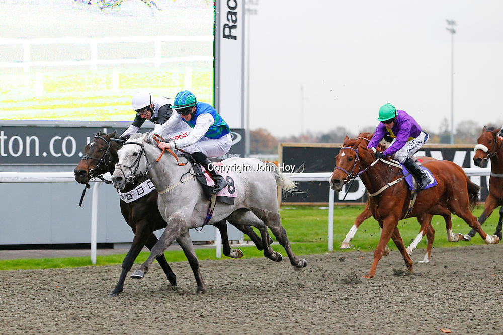Brave Decision and Martin Harley winning the 2.20 race