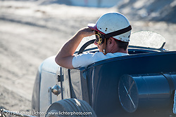 Ready to race at the Race of Gentlemen. Wildwood, NJ, USA. October 11, 2015.  Photography ©2015 Michael Lichter.