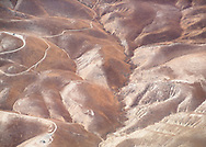 """Abstract aerial of California hills   Each 252-piece photo puzzle comes in a sturdy, finished cardboard box and measures 10"""" x 14"""" when complete"""