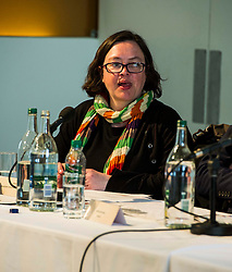 Pictured: Juliet Swann (Associate Consultant at McNeill and Stone), <br /> <br /> Political scientists from the Academy of Government at the University of Edinburgh discussed the factors that influenced voters, the direction of Scottish politics, and analysed changes since the 2015 general election. Among the speakers were Dr Jan Eichhorn (University of Edinburgh), Professors Ailsa Henderson and James Mitchell (University of Edinburgh), Professor Roger Scully (University of Cardiff) and Dr Heinz Branbdenburg (Strathclyde University). Politicians joined the group discussion chaired by Mandy Rhodes (Holyrood Editort) with Marco Biagi (SNP), Nules Briggs (Conservative), Gavin Corbett (Greens), Juliet Swann (Associate Consultant at McNeill and Stone) and Martyn McCluskey (Labour) <br /> <br /> Ger Harley | EEm 13 May April 2016