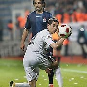 Besiktas's Roberto HILBERT (F) during their Turkish superleague soccer match Kasimpasa between Galatasaray at the Besiktas tadium in Istanbul Turkey on Monday 11 April 2011. Photo by TURKPIX