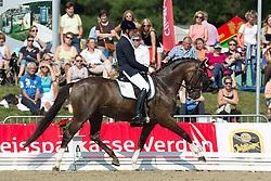 Cuypers Carl (BEL) - Bilan<br /> FEI World Dressage Championships for Young Horses<br /> Internationales Dressur- und Springfestival - Verden 2014<br /> © Dirk Caremans