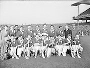 Neg No:.430/6025-6028...17031954IPFCF...17.03.1954..Interprovincial Railway Cup Hurling - Final..Leinster v. Munster.Leinster Team..HURLING- Incorrect Folder
