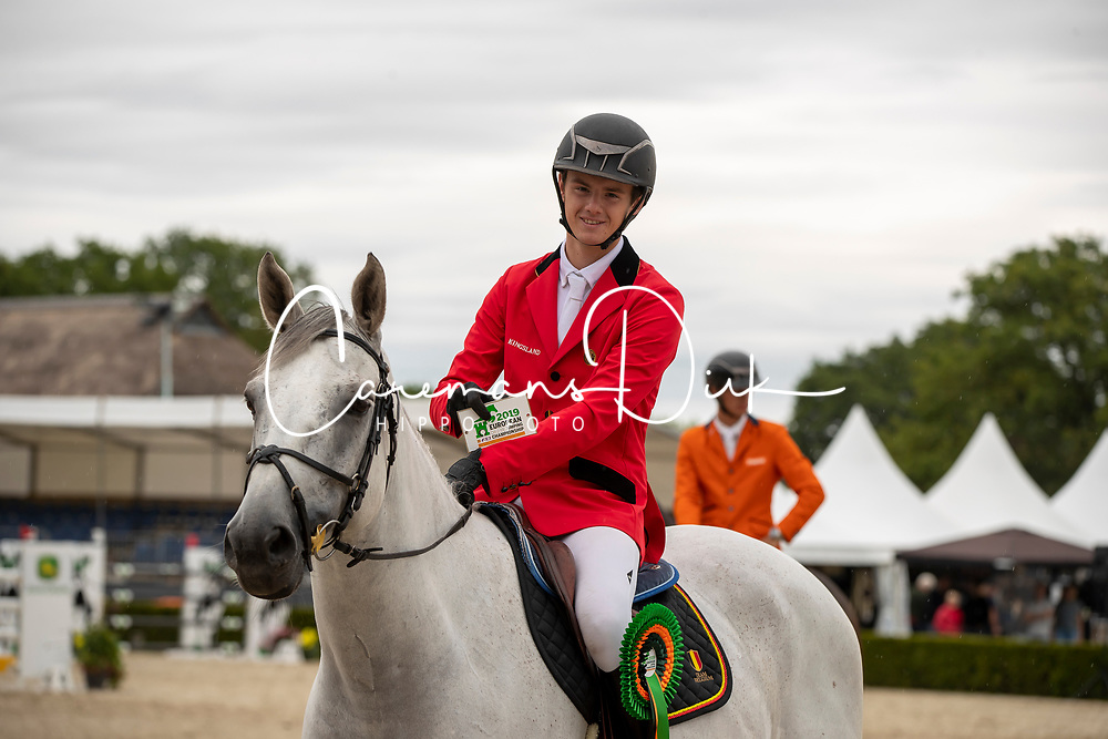Vermeiren Dieter, BEL, Kingston Town 111Z<br /> European Jumping Championship Children<br /> Zuidwolde 2019<br /> © Hippo Foto - Dirk Caremans<br /> Vermeiren Dieter, BEL, Kingston Town 111Z
