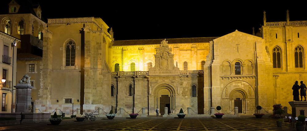 Basilica of San Isidoro in Leon, Castilla y Leon, Spain