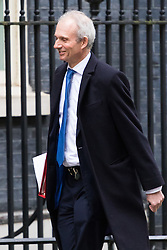 Downing Street, London, February 21st 2017. Leader of the House of Commons David Lidington attends the weekly cabinet meeting at 10 Downing Street in London.