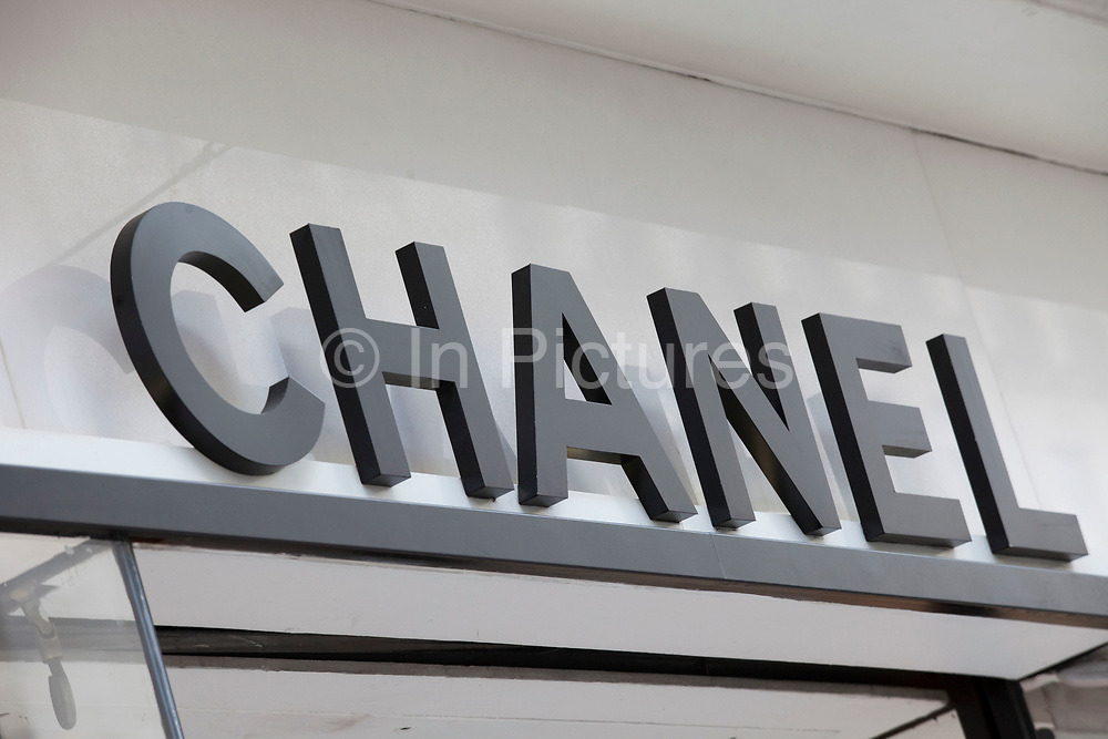 Sign for high end fashion and exclusive brand Chanel.