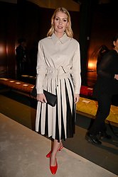 Kitty Spencer attending the Tod's Fall 2020 show during Milan Fashion Week February 2020.