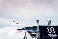 Mathilde Gremaud during Women's Ski Big Air Finals at 2017 X Games Norway at Hafjell Alpinsenter in Øyer, Norway. ©Brett Wilhelm/ESPN