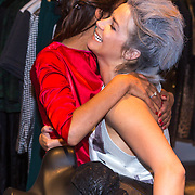 NLD/Amsterdam/20130905 - Lancering lingerielijn Pretty Wild, Firouze Akhbari met Victoria Koblenko