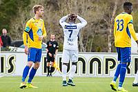Fotball , 3 Mai 2016 , Norgesmesterskapet , NM , Cup , Brattvåg - Aalesund , Bi Sylvestre Franck Fortune Boli<br /> <br /> Foto: Marius Simensen, Digitalsport