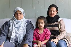 Three generations of female family,