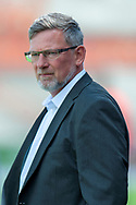 Craig Levein of Heart of Midlothian before the Ladbrokes Scottish Premiership League match between Hamilton Academical FC and Heart of Midlothian FC at New Douglas Park, Hamilton, Scotland on 4 August 2018. Picture by Malcolm Mackenzie.