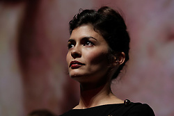 Actress AUDREY TAUTOU on stage during introductions to 'Therese Desqueyroux' at the 2012 Toronto International Film Festival, September 11th, 2012. Photo by David Tabor/i-Images.
