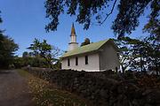 Siloama Church, 1885, Kalaupapa Peninsula, Molokai, Hawaii