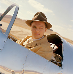 THE AVIATOR (2004) - LEONARDO DICAPRIO. Credit: MIRAMAX FILMS / Album. Copyright: Editorial use only. No merchandising or book covers. This is a publicly distributed handout. Access rights only, no license of copyright provided. Only to be reproduced in conjunction with promotion of this film.
