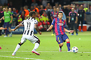 Barcelona Pedro during the Champions League Final between Juventus FC and FC Barcelona at the Olympiastadion, Berlin, Germany on 6 June 2015. Photo by Phil Duncan.
