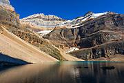 Mount Lefroy above Lake Oesa, Yoho National Park, British Columbia, Canada
