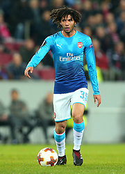 Mohamed Elneny of Arsenal - Mandatory by-line: Robbie Stephenson/JMP - 23/11/2017 - FOOTBALL - RheinEnergieSTADION - Cologne,  - Cologne v Arsenal - UEFA Europa League Group H