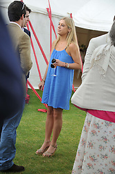 CHELSY DAVY at the Cartier Queen's Cup Polo Final, Guards Polo Club, Windsor Great Park, Berkshire, on 17th June 2012.