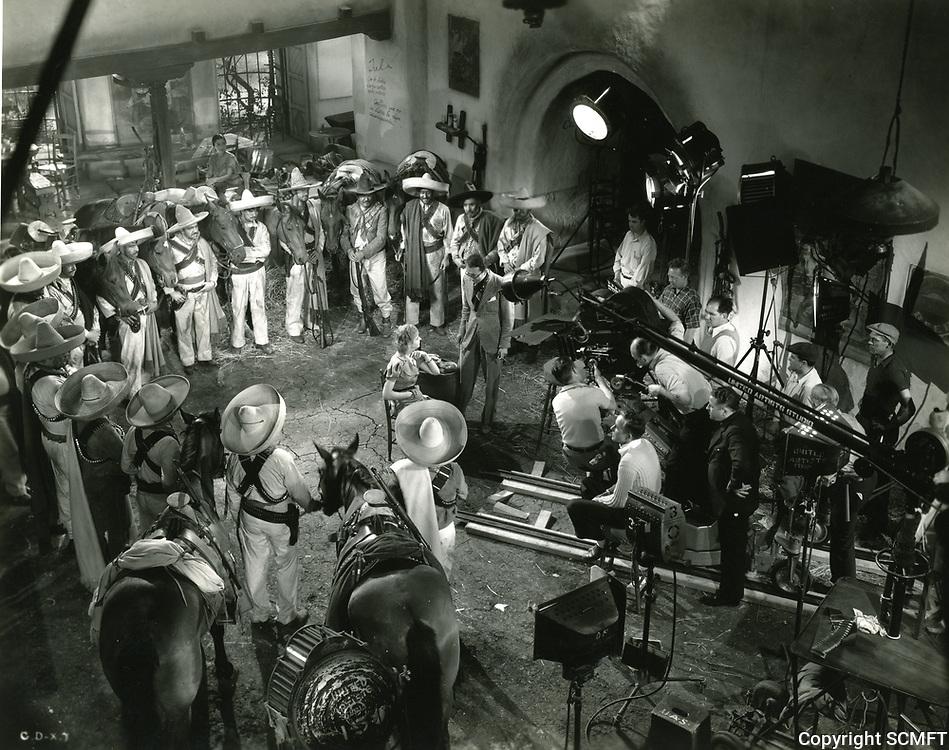 1936 Filming The Gay Desperado at United Artist Studios