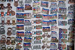 BAKU, AZERBAIJAN - Saturday, November 16, 2019: The Old City of Baku pictured before the UEFA Euro 2020 Qualifying Group E match between Azerbaijan and Wales at the Bakcell Arena. (Pic by David Rawcliffe/Propaganda)