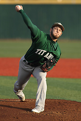 21 April 2015:  Adam Seifert during an NCAA Inter-Division Baseball game between the Illinois Wesleyan Titans and the Illinois State Redbirds in Duffy Bass Field, Normal IL