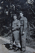 Mcc0061504 . Daily Telegraph<br /> <br /> Telegraph Magazine<br /> <br /> D Day Veterans<br /> <br /> 1942, Pat Turner and Lenny Higgs in Ilfracombe ? prior to march to Bulford in Wiltshire.<br /> <br /> Pat Turner who was a Glider borne trooper in B Company of the Oxfordshire and Bucks Light Infantry , 6 Airborne Division that successfully took and held Pegasus in the early hours of D Day .<br /> <br /> Essex 16 April 2015
