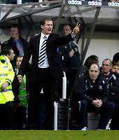 Photo: Jed Wee.<br /> Newcastle United v Portsmouth. The Barclays Premiership. 26/11/2006.<br /> <br /> Newcastle manager Glenn Roeder.