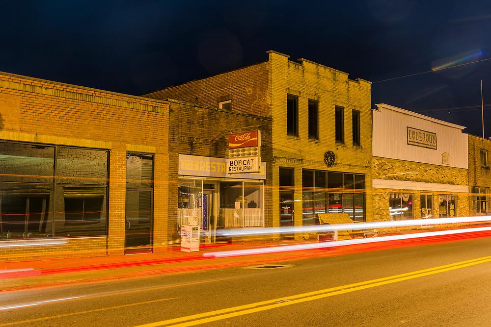 Streetscene. Hamlin, Lincoln County, West Virginia.