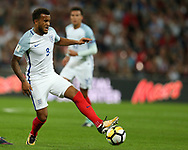 Ryan Bertrand of England in action.FIFA World cup qualifying match, European group F, England v Slovakia at Wembley Stadium in London on Monday 4th September 2017.<br /> pic by Andrew Orchard, Andrew Orchard sports photography.